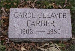Carol <I>Cleaver</I> Farber
