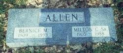 Bernice M. <I>King</I> Allen