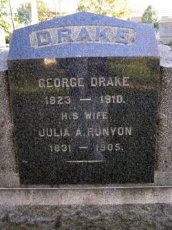 Julia A <I>Runyon</I> Drake