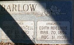 Edith Adelaide Barlow
