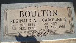Caroline Louise <I>Smyth</I> Boulton