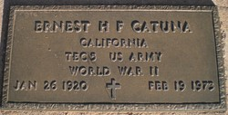 Ernest H F Catuna