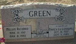Melvin Richard Green