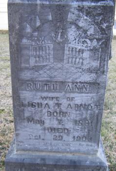 Ruth Ann <I>Miller</I> Arnot