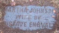Martha <I>Johnson</I> Engvall