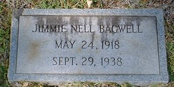Jimmie Nell Bagwell
