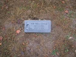 """William """"Bill"""" Crall"""