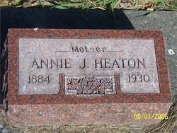 Annie Jane <I>Harris</I> Heaton