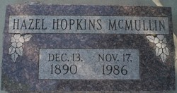 Hazel <I>Hopkins</I> McMullin