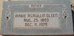 Marie <I>McMullin</I> Olsen