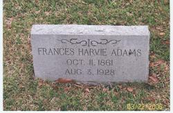 Frances Harvie Adams