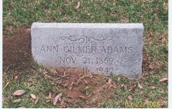 Ann Gilmer Adams
