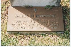 Daniel Harvie Browning