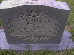 Susie Halcom Baker