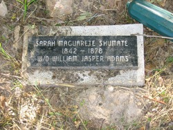 Sarah Maguarette <I>Shumate</I> Adams