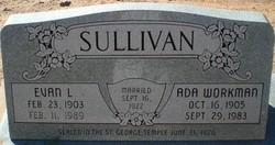 Ada <I>Workman</I> Sullivan