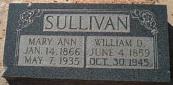 William Duncan Sullivan, Sr