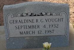 Geraldine Ruth <I>George</I> Vought