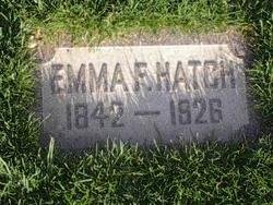 Emma F <I>Ford</I> Hatch