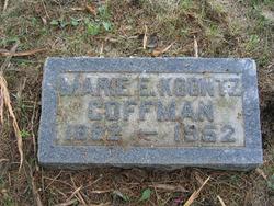 Marie E. <I>Koontz</I> Coffman