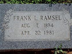 Frank Leslie Ramsel