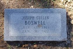 Joseph Cullen Boswell