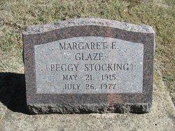 "Margaret E. ""Peggy"" <I>Stocking</I> Glaze"