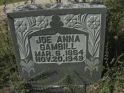Joe Anna Jones <I>Brown</I> Gambill