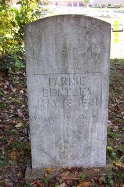 Fanny Bentley