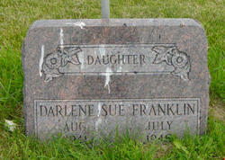 "Darlene Sue ""Susie"" Franklin"