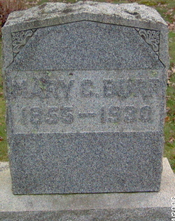 Mary C. <I>Grier</I> Burr