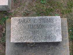 Sarah C. <I>Stubbs</I> Jemison