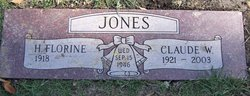 "Claude Wilbert ""Bill"" Jones"