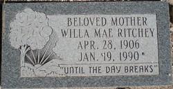 Willa Mae <I>Luker</I> Ritchey