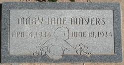 Mary Jane Mayers