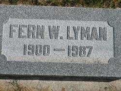 Fern Welker Lyman