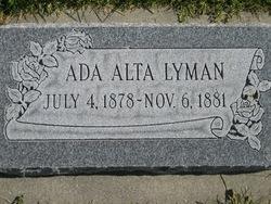 Ada Alta Lyman