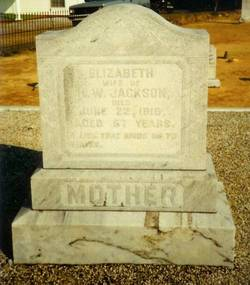 Elizabeth <I>Smith</I> Franklin Jackson