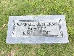 Paschall Jefferson Bowdry