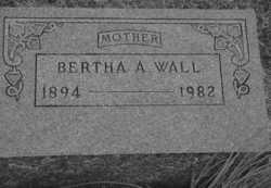 Bertha Richard <I>Alexander</I> Wall