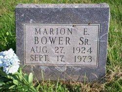 Marion Eugene Bower, Sr