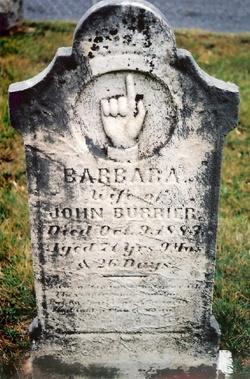 Barbara Rebecca <I>Nusbaum</I> Burrier