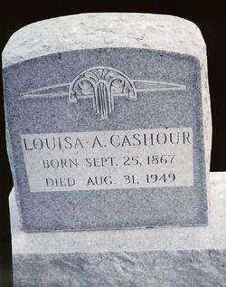 Louisa A Cashour