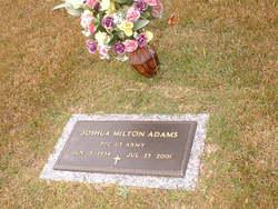 PFC Joshua Milton Adams