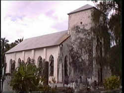 Avarua Cook Islands Christian Churchyard