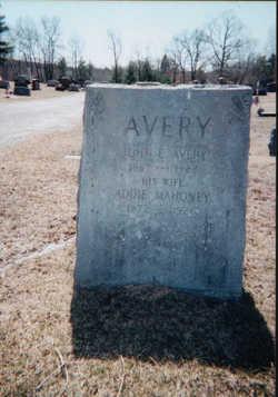 Addie <I>Mahoney</I> Avery