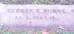 Pvt George E Burns