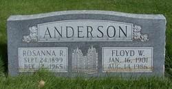 Rosanna <I>Richards</I> Anderson