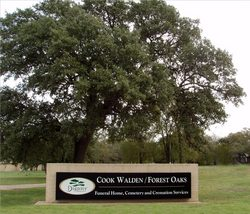 Cook Walden Forest Oaks Memorial Park