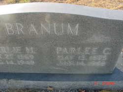 Parlee C. <I>Watts</I> Branum